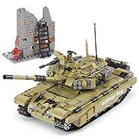 Brixtoys Bay ® military tank & 5 mini figures / 1386pcs construction set XB-XF015