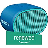 (Renewed) Sony Wireless Speaker SRS-XB01 (Blue)