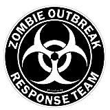 Zombie Outbreak Response Team Aufkleber Autoaufkleber Sticker Decal