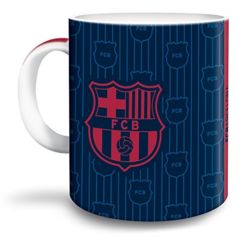 "'FC Barcelona Taza de café ""Escudo Barca Porcelana Taza Fan Artículo"