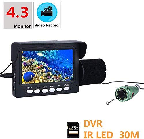 BD.Y Portable 4.3 Pulgadas 6 PCS 1W IR LED Luces cámara