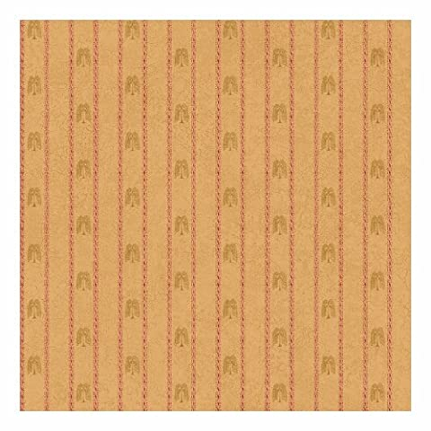 York Wallcoverings SM8725SMP Small Treasures Primitive Weeping Willow Stripe 8