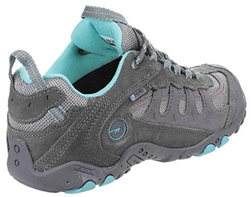 HiTec Penrith acqua bassa prova Ladies Hiker Boot Acciaio / Grey / acqua