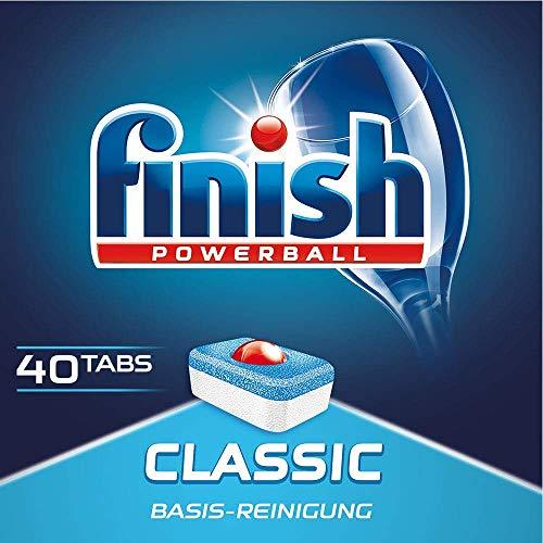 Finish Classic 40 Tabs 3 er Pack (3 x 40)