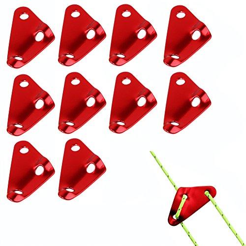 aveson Pack de 10Tensor triángulo de aluminio Cable, usado segunda mano  Se entrega en toda España