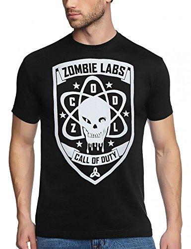 CALL OF DUTY - ZOMBIE LABS COD 3 - T-SHIRT, GR.XXL Zombie Lab