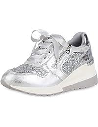 9ba74716673391 Suchergebnis auf Amazon.de für  WEDGES - Silber   Sneaker   Damen ...