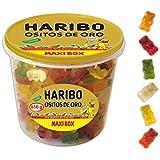 Haribo Maxibox Ositos Oro Caramelos de Goma - 650 gr
