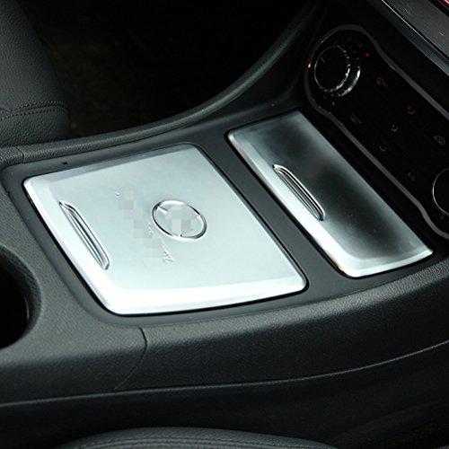 ABS Chrom Center Aufbewahrungsbox Trim Aschenbecher Cover Auto Aufkleber