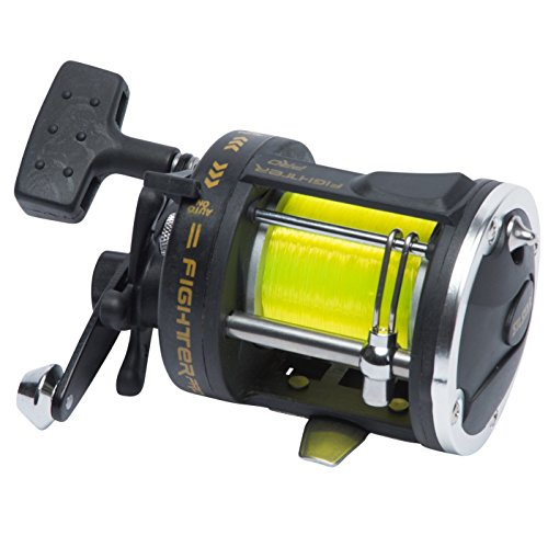 Silstar FIGHTER PRO Trolling Multiplier Reel (20 to 30lbs class) For Marine Sea and Boat Fishing Reel - Suitable for Braid and Mono Lines