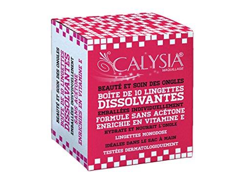calysia Box von 10Tücher Nagellackentferner -
