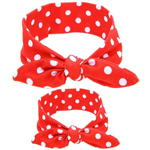diademas-para-bebe-y-madre-sannysis-conejo-arco-hairband-venda-de-la-flor-2-piezas-rojo