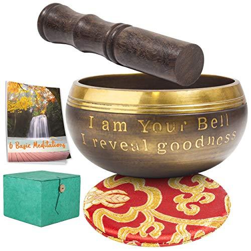Cuenco tibetano regalo meditación Navidad