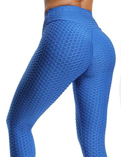 Damen Sport Leggings, DEEWISH Frauen Leggings Yoga Fitness Hose | Lange Sporthose Stretch Workout Fitness Jogginghose Pants | Elastische Dünne Hosen