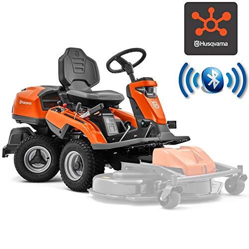 Husqvarna Trattorino rasaerba tagliaerba Rider R 316TX AWD idrostatico Tecnologia Bluetooth Solo...