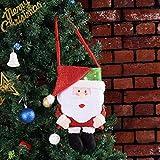 Sevenfly Christmas Candy Cookie Geschenk Taschen Santa Schneemann Füller Handtaschen Xmas Party Hochzeitsdekoration (Alter Mann)