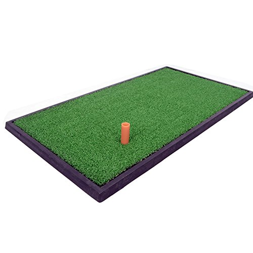 Zfggd Golfmatten Indoor Praxis Pad Swing Schneidkissen 63 * 33cm