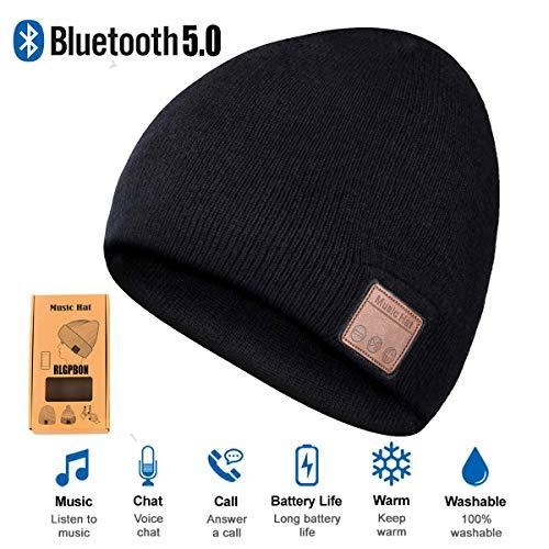 Cappello Bluetooth Bluetooth Music Hat Inverno Berretto Lavorato a Maglia Berretto per Corsa Sport all'Aria Aperta Sci Campeggio Escursionismo Giorno del Ringraziamento Regali di Natale 2 (type 1)