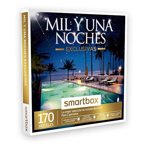 SMARTBOX – Caja Regalo – MIL Y UNA NOCHES EXCLUSIVAS – 170 mejores hoteles de lujo de 4 y 5* en España, Andorra, Portugal, Italia y Francia