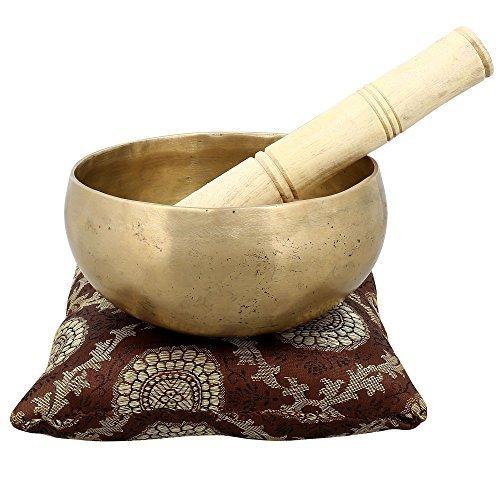 Handmade Bols chantants bouddhiste Bell pour la méditation et la guérison 15,24 X 7,62 cm