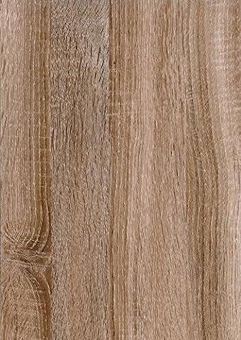 d-c-fix® 346-0633 Film en vinyle avec revers autocollantImitation grain de bois de chêne de Sonoma clair 45cm x 200cm