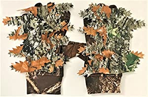 Camouflage Ghillie vue Gants Camouflage cacher antidérapant traque furtive Airsoft