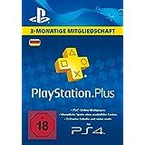 PlayStation Plus Mitgliedschaft - 3 Monate [PS4 Download Code - deutsches Konto]