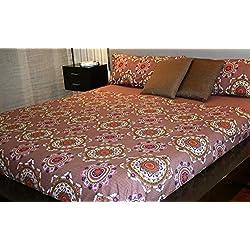 Gama. Edredones BaratosJuego de sábanas estampado Mandala ( Para cama de 150x190/200)