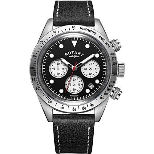 Para hombre giratorio exclusivo Vintage cronógrafo reloj gs00600/04