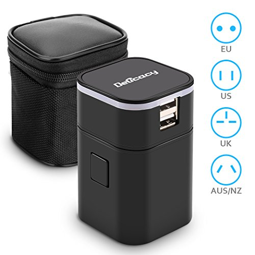 Travel Adapter,Delicacy Universa...