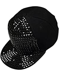 Fashion Women Unisex Men Bling Full Acryl Baumwolle, Hip-Hop-Fitted Mütze Cap