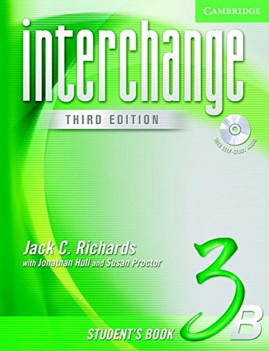 Interchange Student's Book 3B with Audio CD by Jack C. Richards (2005-01-10)