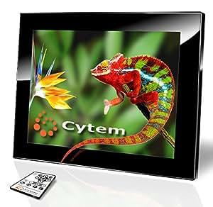 Cytem VX10-album schwarz 2GB, Digitaler Bilderrahmen 26,4 cm (10.4 Zoll) (800x600 / 4:3), Echte Zufallswiedergabe, Ordnerbasierte Diaschau, Diaschau Fortsetzen nach Standby