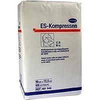 ES-KOMPRESSEN unsteril 10x12,5 cm 16fach 100 St Kompressen preisvergleich bei billige-tabletten.eu