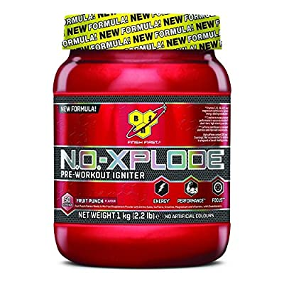 BSN No-Xplode 3.0 1kg,Most powerful all-in-one pre-workout formula (Green Apple) from BSN