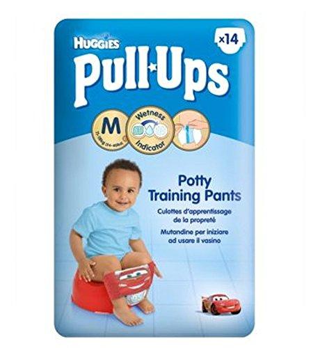 Huggies Pull-UpsHuggie Pull-Up Disney-Pixar Delle Automobili Dei Ragazzi Formato 5 Pantaloni Di Formazione Vasino - 1 X 14 Pantaloni