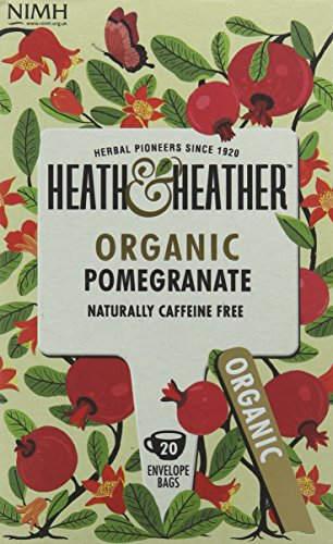 A photograph of Heath & Heather organic pomegranate