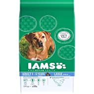 Iams Dry Dog Food Adult Large Breed Chicken, 3 kg - Pack of 3