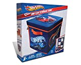 from Hot Wheels Hot Wheels ZipBin 300 Car Storage Cube and Playmat Model A1686XX