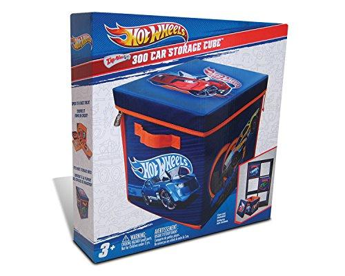 Neat-Oh.–A1686X X–Caja de almacenamiento–2en 1–Hotwheels