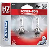 Michelin 008737 Power +80% 2 Ampoules H7 12 V 55W