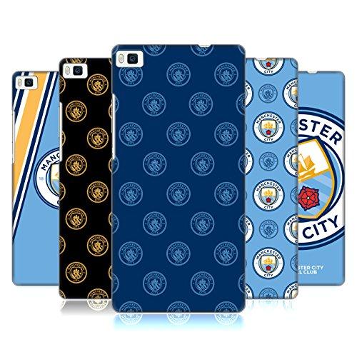 Head Case Designs Officiel Manchester City Man City FC 2017/18 Insigne Étui Coque D'Arrière Rigide pour Huawei Téléphones 1