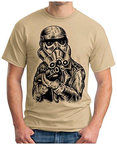 OM3 - PUNK-TROOPER - T-Shirt, S - 5XL Khaki