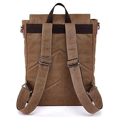 Gendi ,  Unisex Erwachsene Damen Rucksackhandtaschen braun