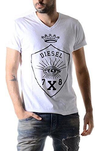 Diesel T-HAMA 100 t-shirt bianco