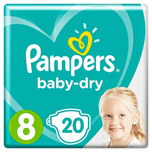 Pampers Baby-Dry Größe8, 20Windeln
