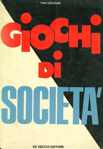 Giochi di società, usato usato  Spedito ovunque in Italia