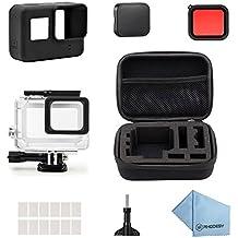 Rhodesy 18 en 1 GoPro Hero 5 Protective Estuche Impermeable Kit de Accesorios para GoPro Hero 6 Hero 5 Acción Cámara