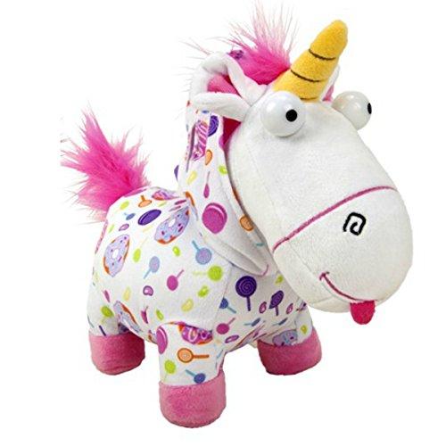 Whitehouse Peluche de Unicornio Fluffy con pijamas Agnes (25cm) de la pelicula Gru - Mi Villano Favorito Original