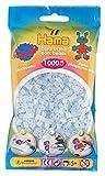 Hama 207-57 - Sacchetto da 1000 perle fosforescenti, colore